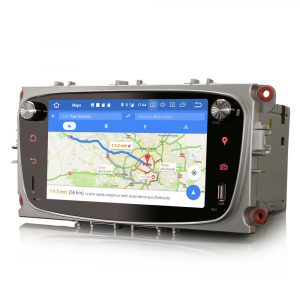Navigatie auto 2 din, Pachet dedicat Ford Focus Mondeo, 7 Inch, Android 10.07