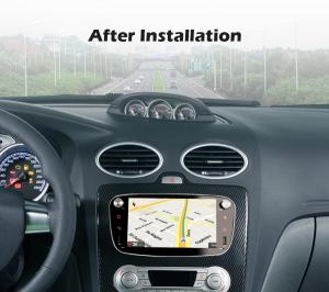 Navigatie auto 2 din, Pachet dedicat Ford Focus Mondeo, 7 Inch, Android 10.09