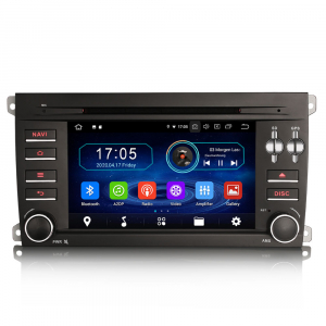 Navigatie auto, Pachet dedicat Porsche Cayenne,7 inch, Android 10, Octa Core [0]