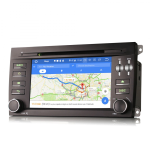 Navigatie auto, Pachet dedicat Porsche Cayenne,7 inch, Android 10, Octa Core5