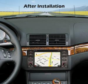 Navigatie auto, Pachet dedicat BMW Seria 3 E46/M3, 7 inch, Android 10.01