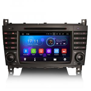 Navigatie auto, Pachet dedicat MercedesBenz C-Class W203 CLC CLK W209,7 inch, Android 10, Octa Core0