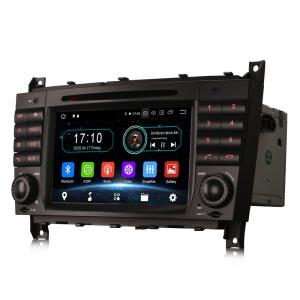 Navigatie auto, Pachet dedicat MercedesBenz C-Class W203 CLC CLK W209,7 inch, Android 10, Octa Core3