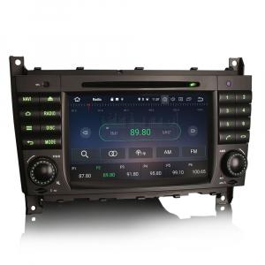Navigatie auto, Pachet dedicat MercedesBenz C-Class W203 CLC CLK W209,7 inch, Android 10, Octa Core4
