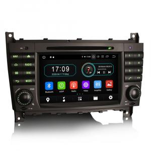 Navigatie auto, Pachet dedicat MercedesBenz C-Class W203 CLC CLK W209,7 inch, Android 10, Octa Core6
