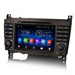 Navigatie auto, Pachet dedicat MercedesBenz C-Class W203 CLC CLK W209,7 inch, Android 10, Octa Core2
