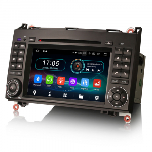 Navigatie auto, Pachet dedicat Mercedes Benz W169 W245 Viano Vito A-Class B-Class,7 inch, Android 10, Octa Core [5]