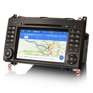 Navigatie auto, Pachet dedicat Mercedes Benz W169 W245 Viano Vito A-Class B-Class,7 inch, Android 10, Octa Core [6]