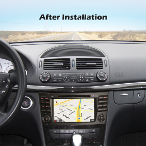 Navigatie auto, Pachet dedicat Benz E Class W211,7 inch, Android 10.07