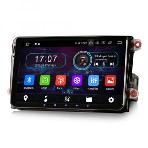 Navigatie auto, Pachet dedicat VW Golf 5 Passat Tiguan Polo Eos Skoda, 9 Inch, Android 10.05