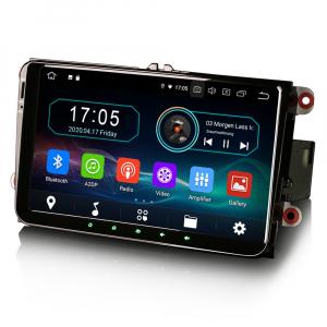 Navigatie auto, Pachet dedicat VW Golf 5 Passat Tiguan Polo Eos Skoda, 9 Inch, Android 10.04