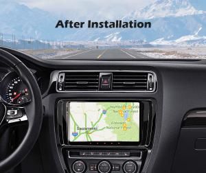 Navigatie auto, Pachet dedicat VW Golf 5 Passat Tiguan Polo Eos Skoda, 9 Inch, Android 10.08