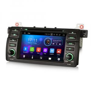 Navigatie auto, Pachet dedicat BMW M3 E46 3er 318 Rover 75,7 inch, Android 10.0, Octa Core [6]