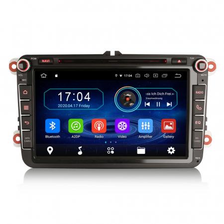 Navigatie auto 2 din, Pachet dedicat VW/SEAT/SKODA, Android 10, Octa Core0