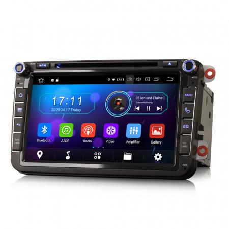 Navigatie auto 2 din, Pachet dedicat VW/SEAT/SKODA, Android 10, Octa Core3