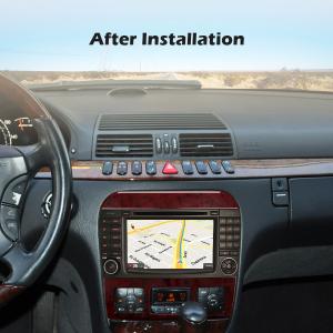 Navigatie auto, Pachet dedicat Mercedes-Benz S-Class W220 CL-Class W215,7 inch, Android 10, Octa Core [7]