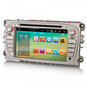 Navigatie auto, Pachet dedicat  Ford Mondeo Focus Galaxy S-MAX C-MAX ,7 inch, Android10.0, Octa Core [5]