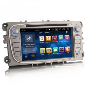 Navigatie auto, Pachet dedicat  Ford Mondeo Focus Galaxy S-MAX C-MAX ,7 inch, Android10.0, Octa Core [3]