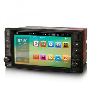 Navigatie auto, Pachet dedicat TOYOTA COROLA HILUX RAV4, 7 inch, Android 10, Octa Core5