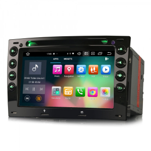 Navigatie auto, Pachet dedicat Renault Megane, 7 Inch,Android 10.0, Octa Core5