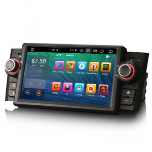 Navigatie auto, Pachet dedicat Fiat Punto Linea ,7 inch, Android 10.0, Octa Core [1]