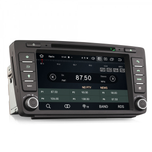 Navigatie auto dedicata SKODA OCTAVIA YETI RAPID SUPERB, 8 Inch, Android 10.0, Octa Core6