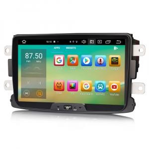 Navigatie auto, Pachet dedicat Renault Dacia Duster Logan Sandero Dokker, 8 Inch, Android 10.0, Octa Core [3]