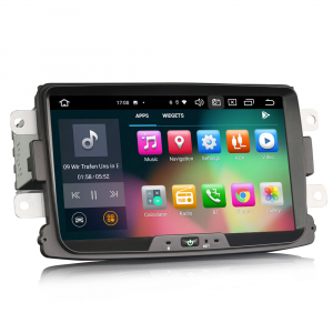 Navigatie auto, Pachet dedicat Renault Dacia Duster Logan Sandero Dokker, 8 Inch, Android 10.0, Octa Core4