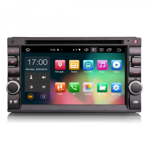 Navigatie auto universala 2DIN, 6.2 inch, Android 10.0, Octa Core0