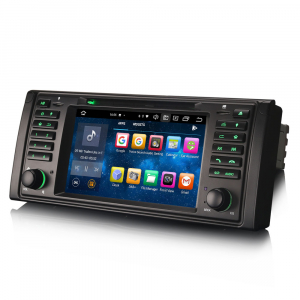 Navigatie auto, Pachet dedicat BMW E39 E53 Range Rover L322, Android 10.0, 7 Inch, Octa Core [6]