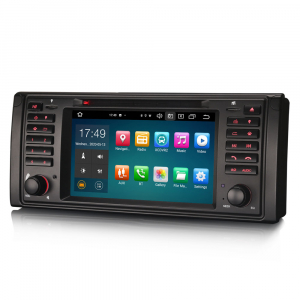 Navigatie auto, Pachet dedicat BMW E39 E53 Range Rover L322, Android 10.0, 7 Inch, Octa Core [5]