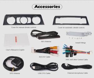 Navigatie auto, Pachet dedicat BMW Seria 1 E81 Hatchback E82 E88, Android 10.0, 7 Inch, Octa Core [9]
