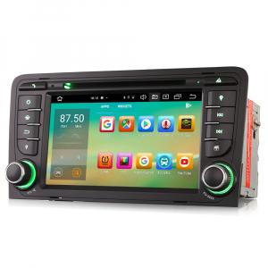 Navigatie auto, Pachet dedicat Audi A3 S3, 7 inch, Android 10, Octa Core2