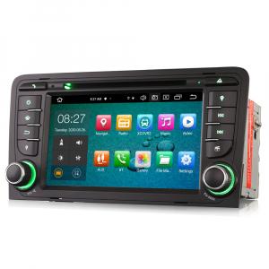 Navigatie auto, Pachet dedicat Audi A3 S3, 7 inch, Android 10, Octa Core4