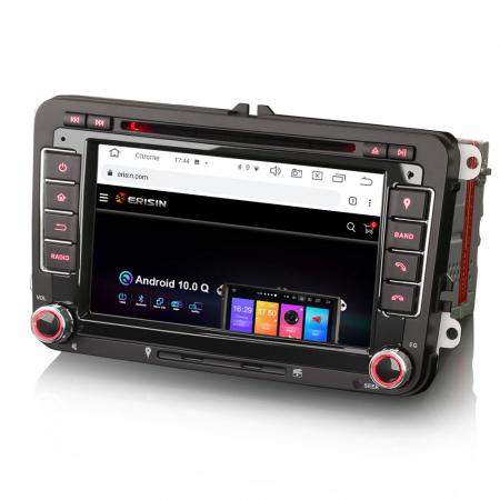 "Navigatie auto dedicata VW Golf Jetta Passat Seat Skoda ,7"" , Android 10.0, Octa Core [2]"