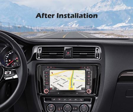 "Navigatie auto dedicata VW Golf Jetta Passat Seat Skoda ,7"" , Android 10.0, Octa Core [9]"