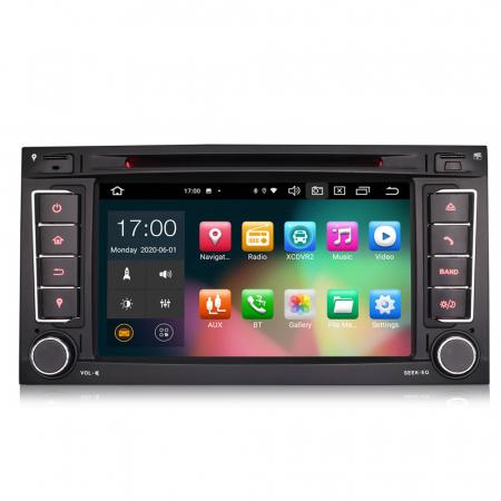 Navigatie auto 2 din, Pachet dedicat VW T5 Multivan TOUAREG, Android 10, 7 Inch, Octa Core [0]