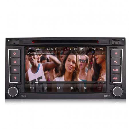 Navigatie auto 2 din, Pachet dedicat VW T5 Multivan TOUAREG, Android 10, 7 Inch, Octa Core [5]