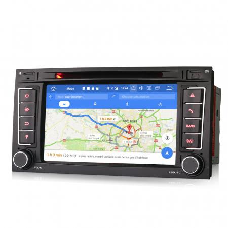 Navigatie auto 2 din, Pachet dedicat VW T5 Multivan TOUAREG, Android 10, 7 Inch, Octa Core [6]