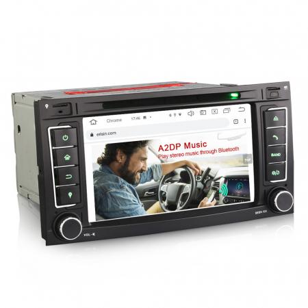 Navigatie auto 2 din, Pachet dedicat VW T5 Multivan TOUAREG, Android 10, 7 Inch, Octa Core [3]
