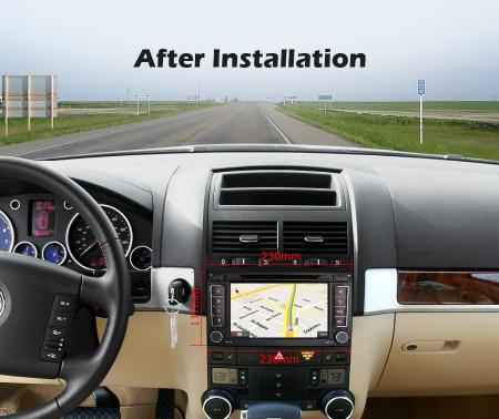 Navigatie auto 2 din, Pachet dedicat VW T5 Multivan TOUAREG, Android 10, 7 Inch, Octa Core [8]
