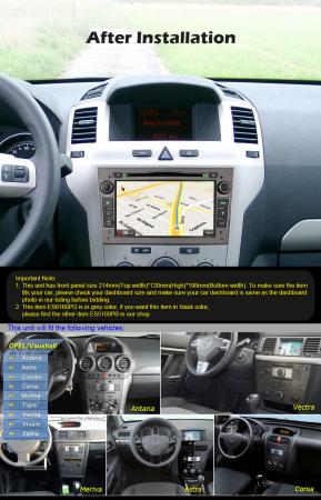 Navigatie auto, Pachet dedicat Opel Antara Zafira Combo, 7 Inch, Android 10.0, Octa Core [10]