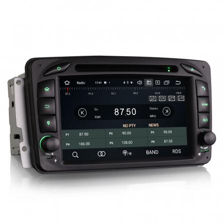 Navigatie auto 2 din, Pachet dedicat Mercedes  Benz CLK W209, Android 10, Octa Core5