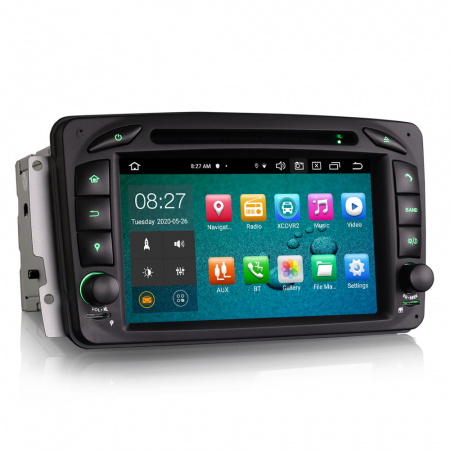 Navigatie auto 2 din, Pachet dedicat Mercedes  Benz CLK W209, Android 10, Octa Core8