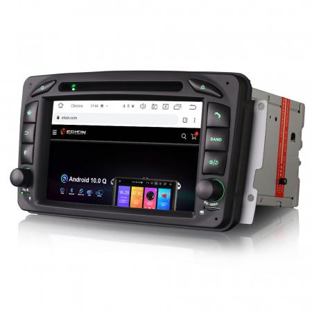 Navigatie auto 2 din, Pachet dedicat Mercedes  Benz CLK W209, Android 10, Octa Core2