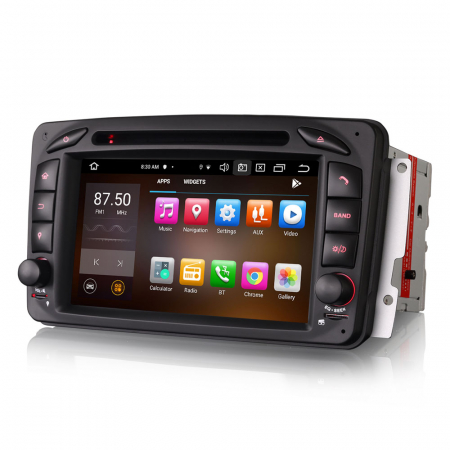 Navigatie auto 2 din, Pachet dedicat Mercedes  Benz CLK W209, Android 10, Octa Core3