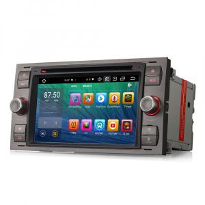 Navigatie auto 2 din, Pachet dedicat Ford Fusion Kuga Mondeo Fiesta, 7 Inch, Android 10.0, Octa Core6
