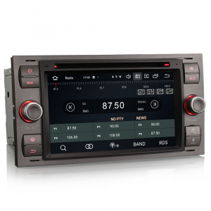 Navigatie auto 2 din, Pachet dedicat Ford Fusion Kuga Mondeo Fiesta, 7 Inch, Android 10.0, Octa Core7