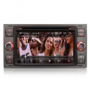 Navigatie auto 2 din, Pachet dedicat Ford Fusion Kuga Mondeo Fiesta, 7 Inch, Android 10.0, Octa Core8