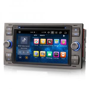 Navigatie auto 2 din, Pachet dedicat Ford Fusion Kuga Mondeo Fiesta, 7 Inch, Android 10.0, Octa Core4